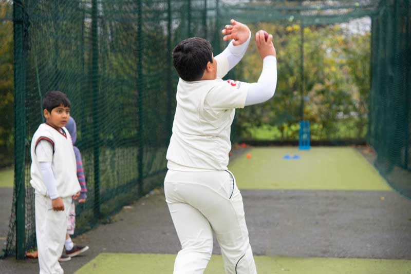 School cricket coaching in South West London